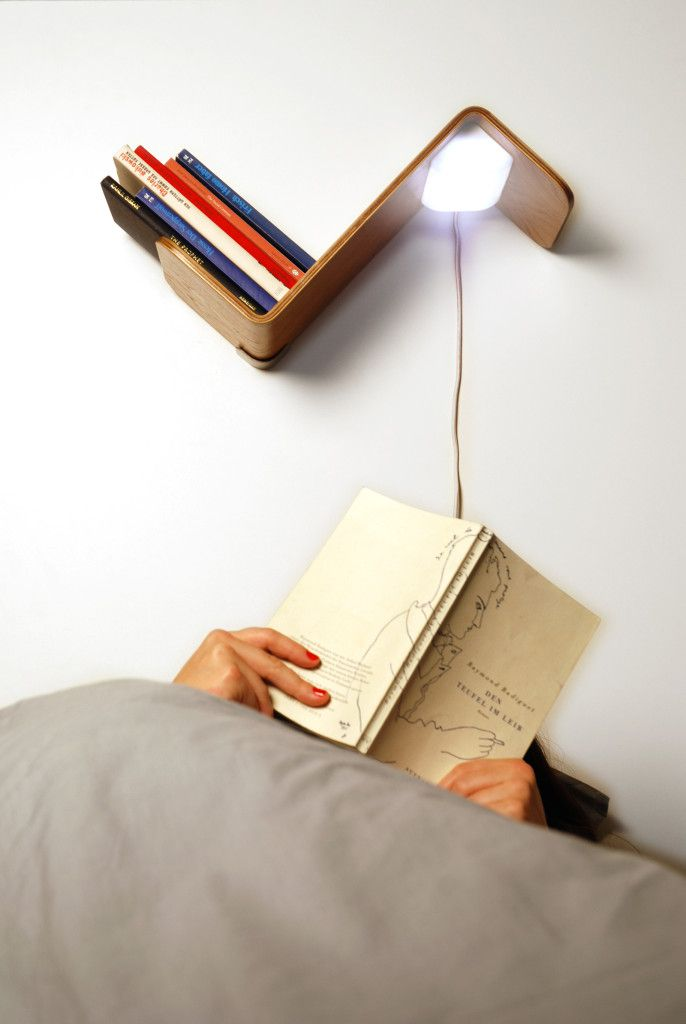 lili lite above bed reading lamp