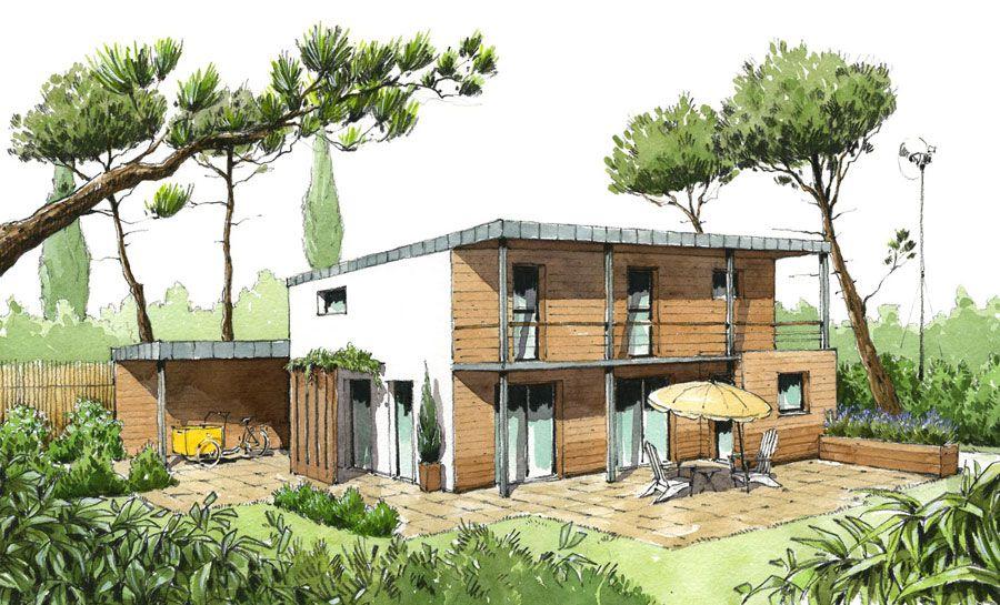 constructeur ccmi ecop habitat maison ecologique medium loft