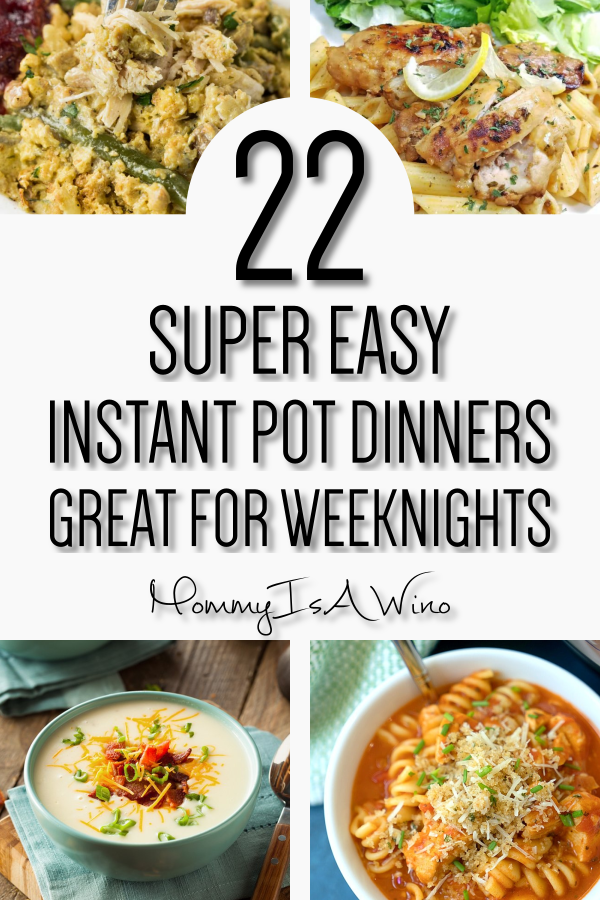 22 Delicious Instant Pot Dinners images