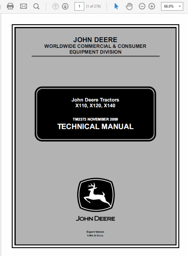 Pin On John Deere X140 Manual