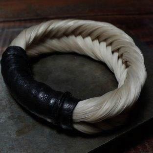 O'ha Horse Hair Bangle by Black Sheep & Prodigal Son