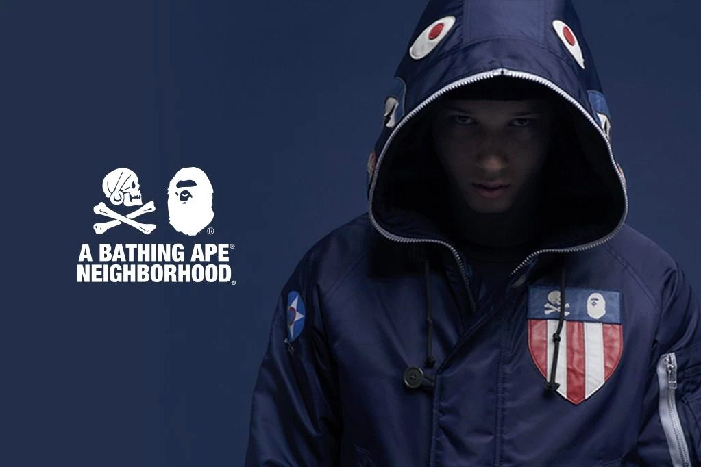 pretty nice 102df fbb13 Check out the Full BAPE x NEIGHBORHOOD Collection Here ...