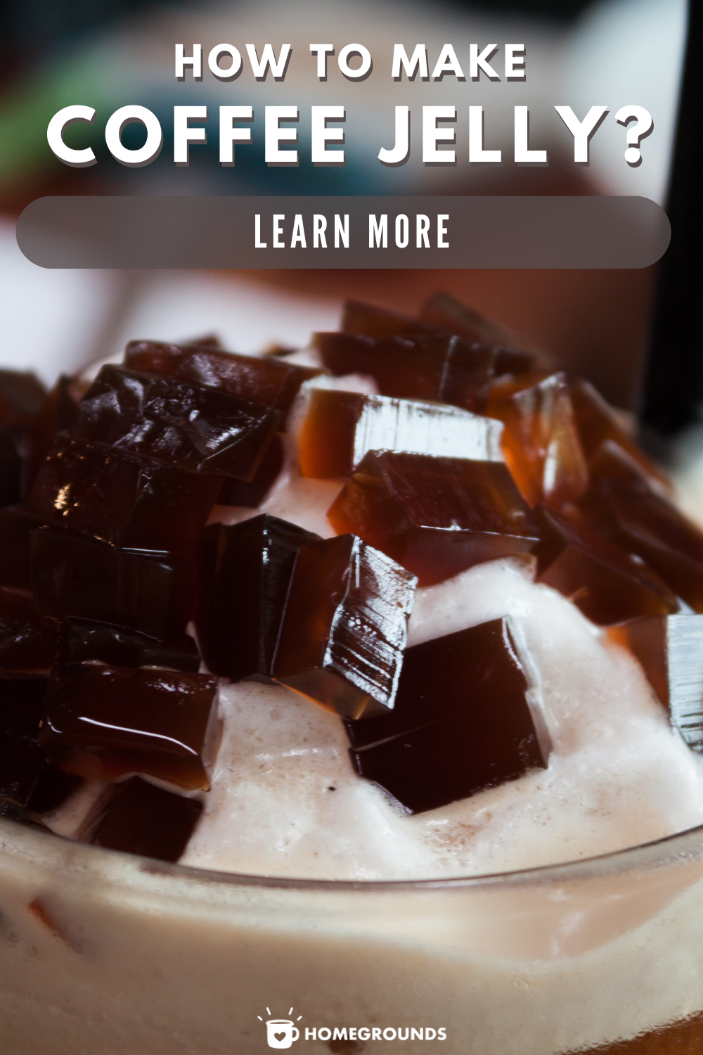 Coffee Jelly Recipe | Recipe in 2020 | Jelly recipes ...