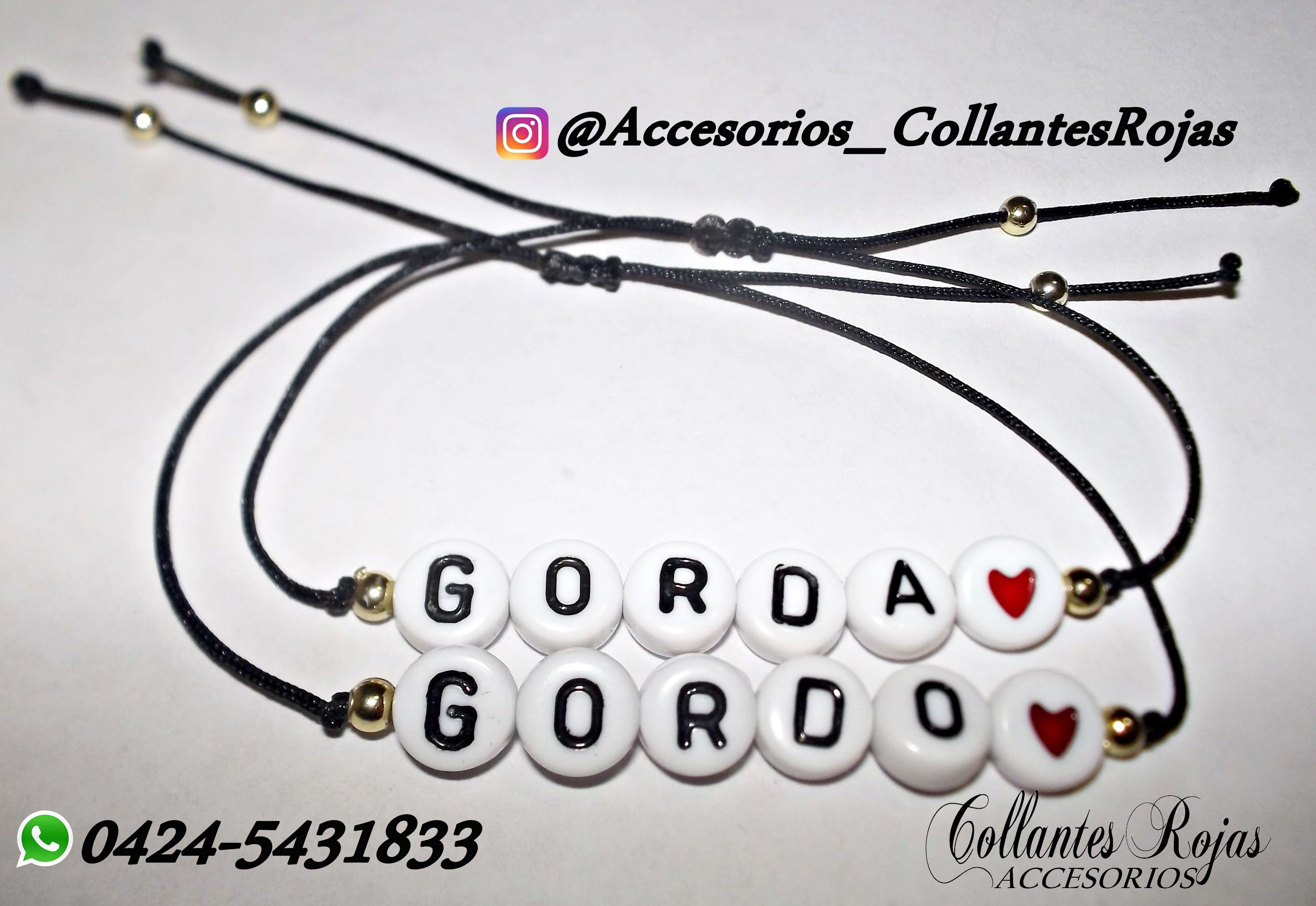 9380c46830ce Pin de A Jirehly Gonzales en deliii y TQT | Pulseras para novios ...