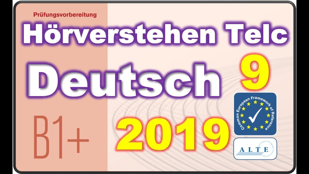 Modelltest 9 B1 Plus Beruf Horverstehen Deutsch 26 04 2019 Deutsch Fur Den Beruf Deutsch Als Fremdsprache Und Deutsch