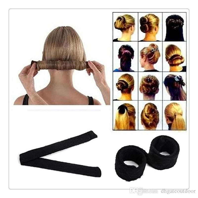 Magic Hair Clips Bun Hair Bun Black Women Hairagami Hair Bun Updo Fold Wrap Snap Magic Styling Tool Cover Maker Tools Hair Clips For Styling Salon Hair Clips Fo Diy Hair