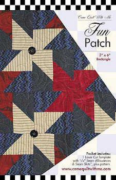 Fun Patch Quilt Template by Pat Yamin of Come Quilt With Me ... : patch it to me quilt - Adamdwight.com