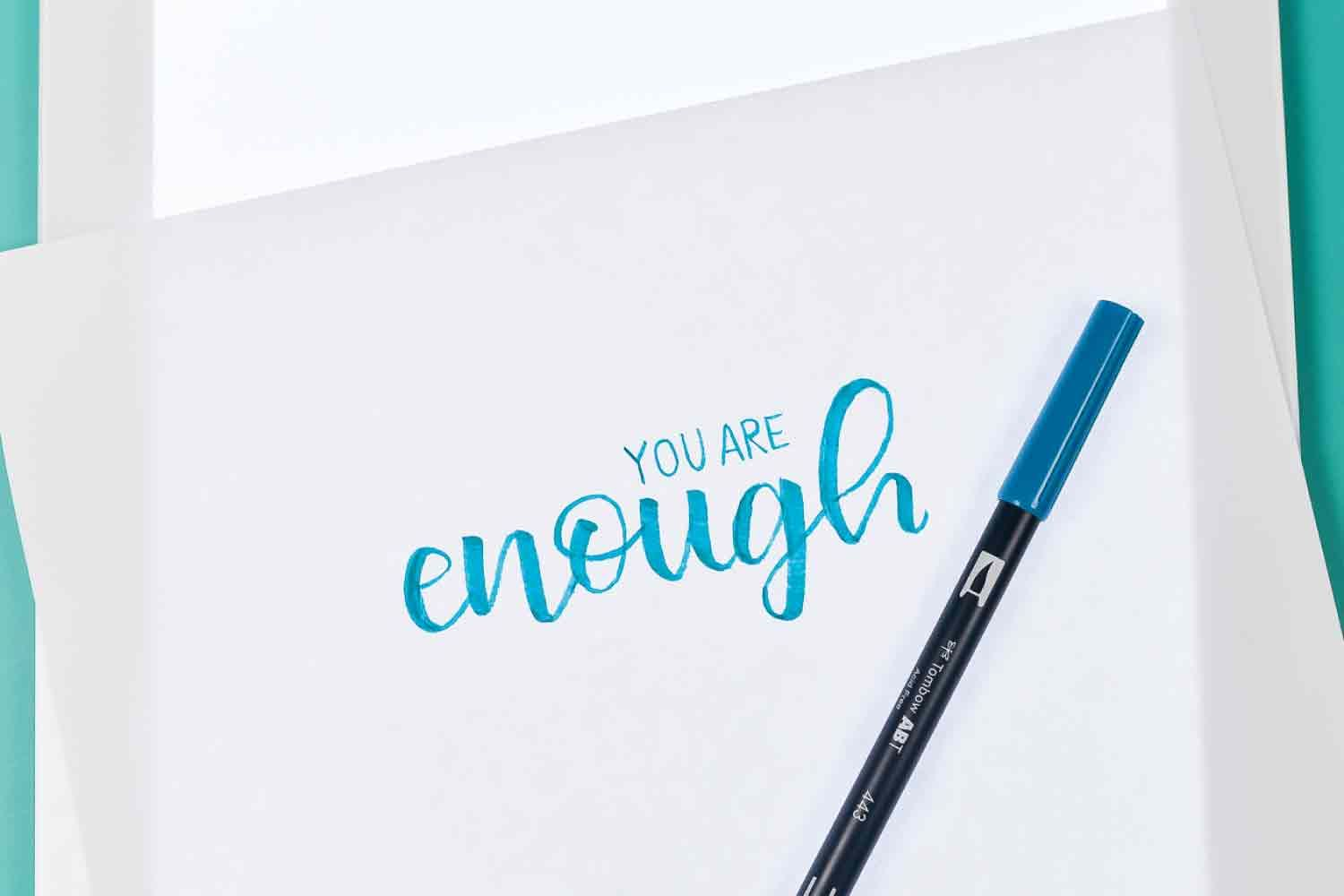 Using The Cricut Brightpad For Hand Lettering Hand Lettering Hand Lettering Practice Lettering