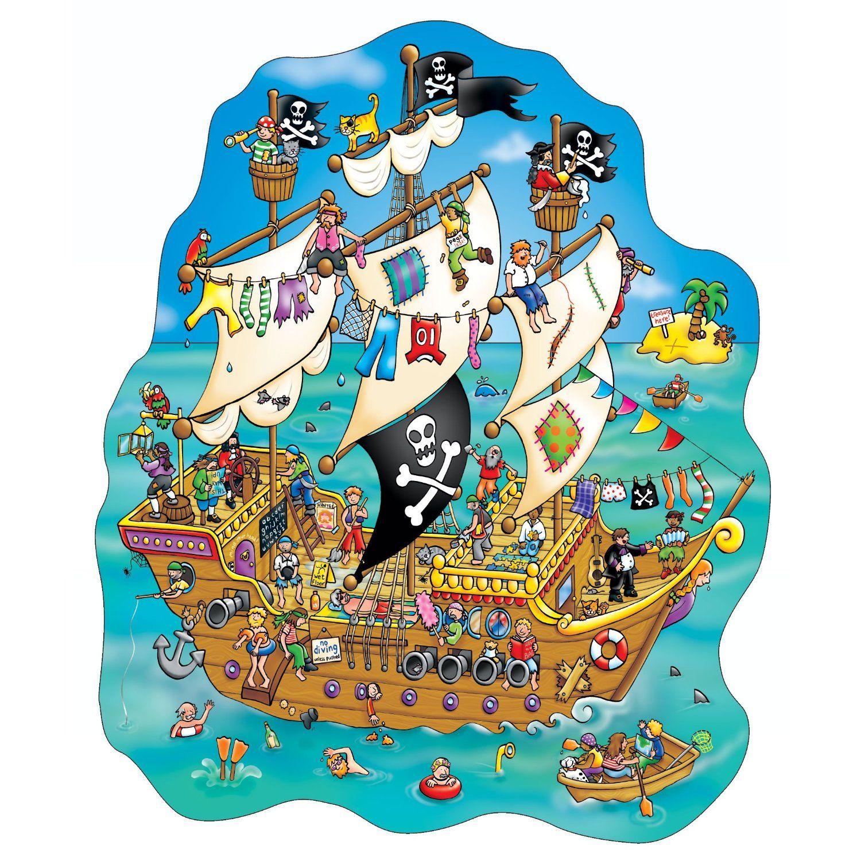 Pirates Preschool Praatplaten Kleuters Pirates