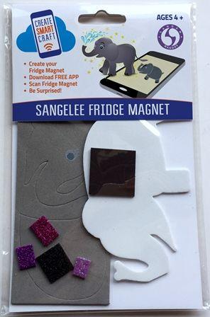 Technology Enhanced Diy Sangelee Fridge Magnet Comes Alive As