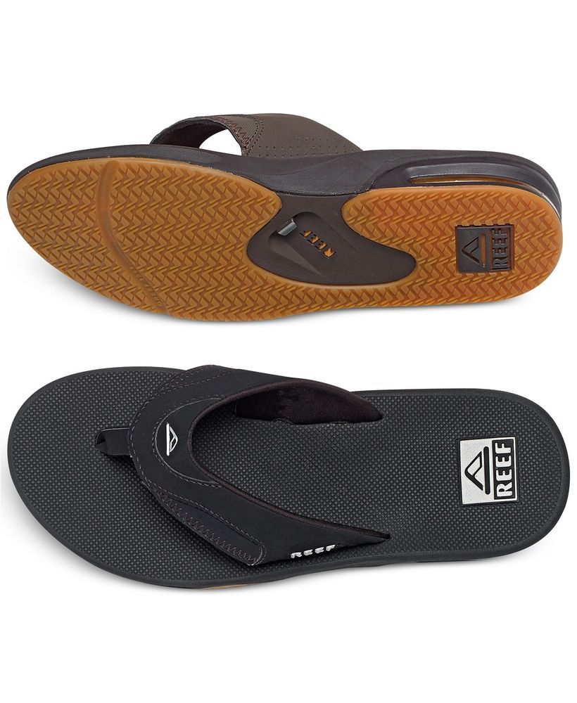 aa5422e04aba NEW Men s REEF Sandals with BOTTLE OPENER (Size 9) (Black)  fashion   clothing  shoes  accessories  mensshoes  sandals (ebay link)