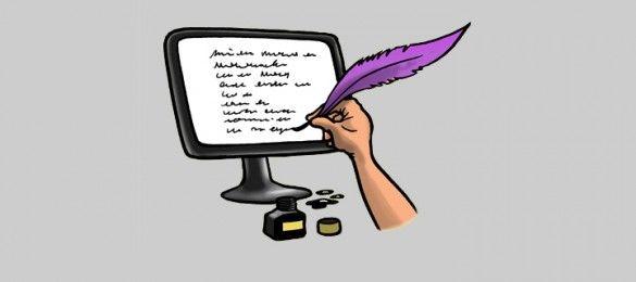 Bloggen met leerlingen (via WitBlauw)