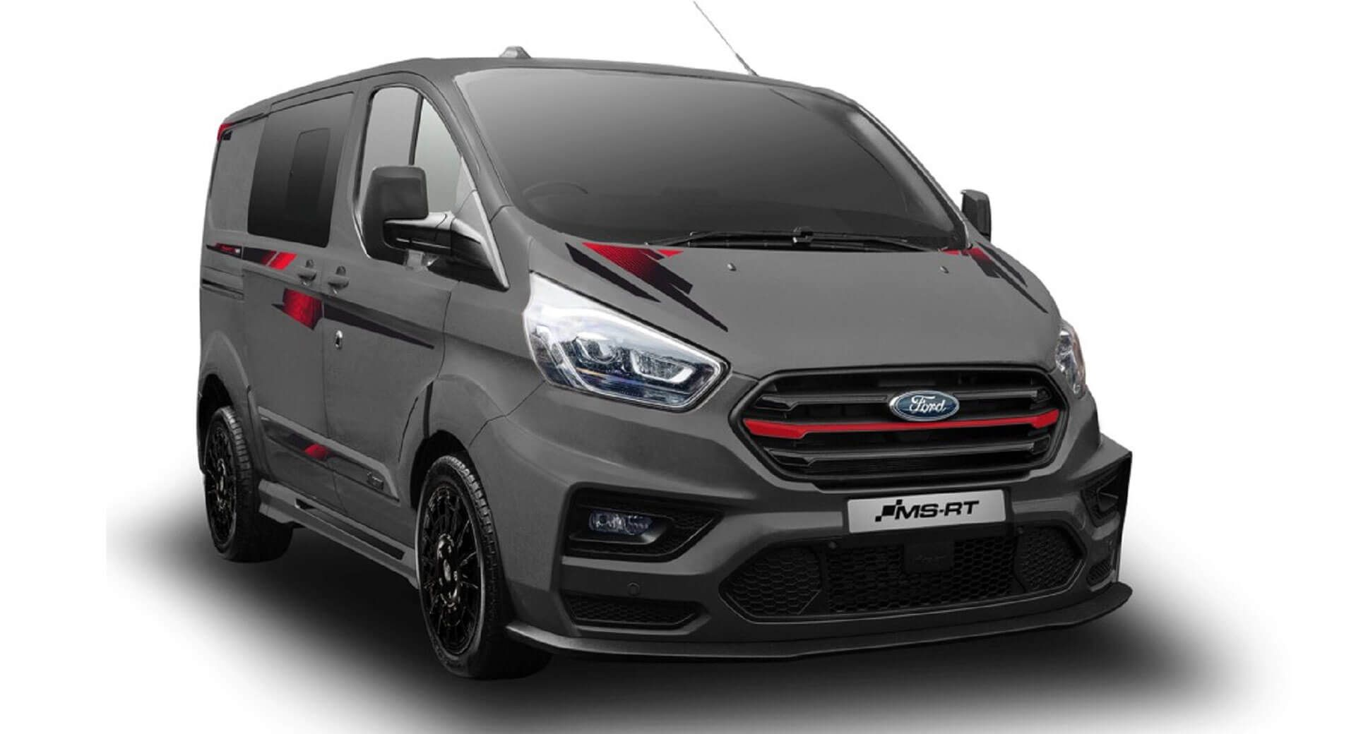 Ms Rt S R185 Ford Transit Custom Is All Show And No Go Will Still