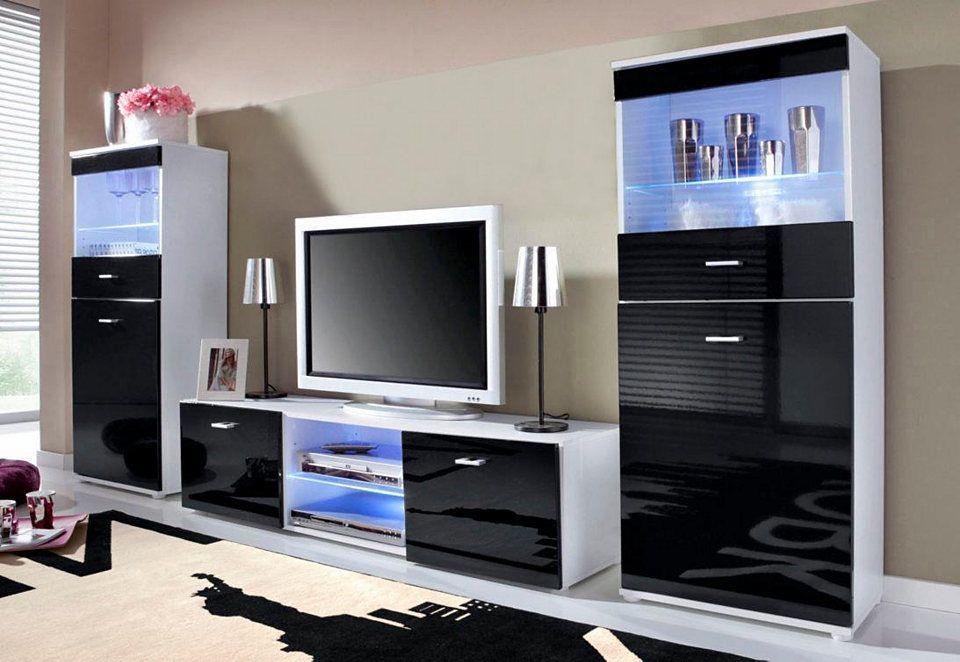 TV-Wand, Made in Germany (3tlg) Jetzt bestellen unter   - wohnzimmer tv wand