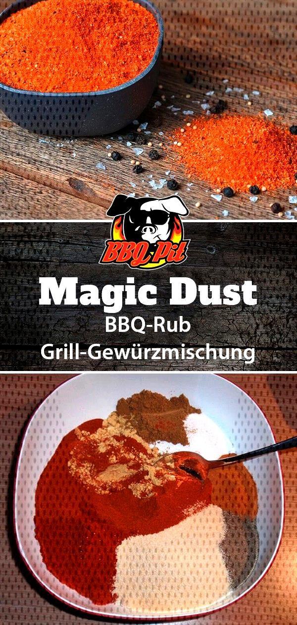 Magic Dust BBQ-Rub selber mischen    So einfach mischt du dir dein eigenes Magic Dust, das bekannte