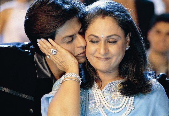Shahrukh and Jaya Bachchan scene from KKKG. | Shayari image, Indian  wedding, Bollywood actress