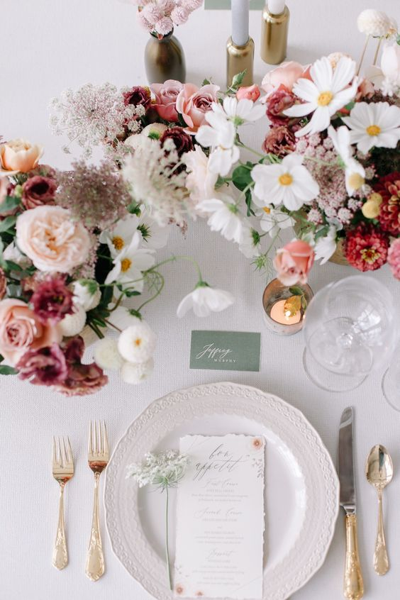 Photo of 44 TRENDING FLORAL GREENERY WEDDING DINING TABLE IDEAS – Page 44 of 44 – Sciliy