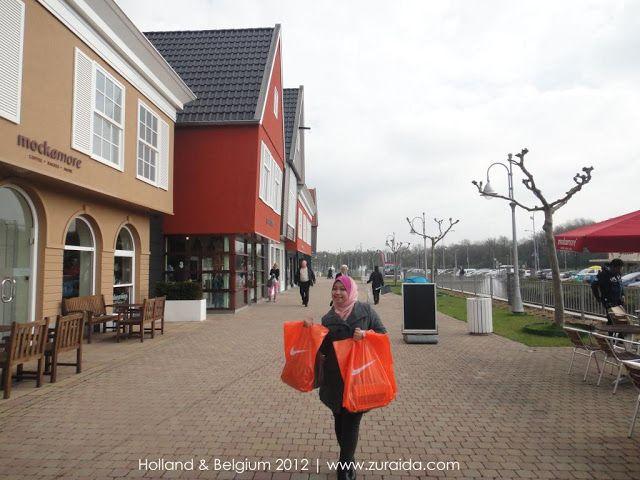 Rosada Outlet Roosendaal Netherland Travelogue Amsterdam Belgium