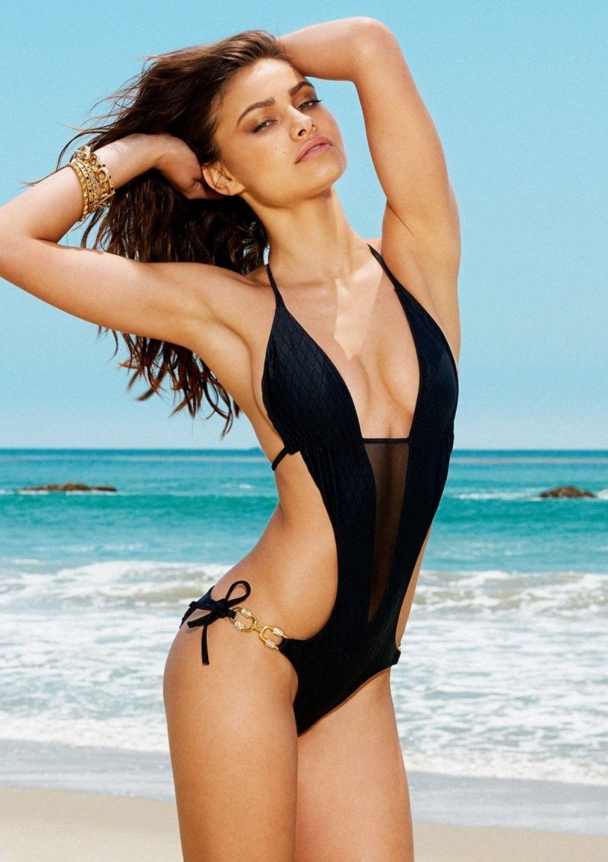 Skimpy one piece bikini