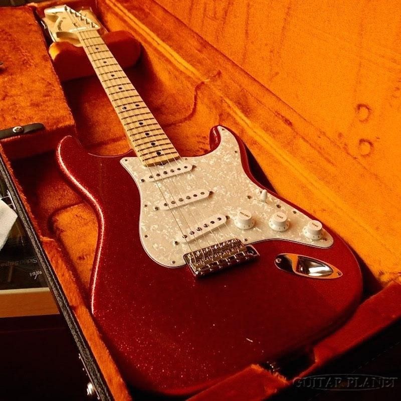 "Fender Custom Shop Guitar Planet Exclusive ""Hendrixy"" 1969 Stratocaster N.O.S. Reverse Head -Red Sparkle- 2014USED!!(中古)【楽器検索デジマート】"
