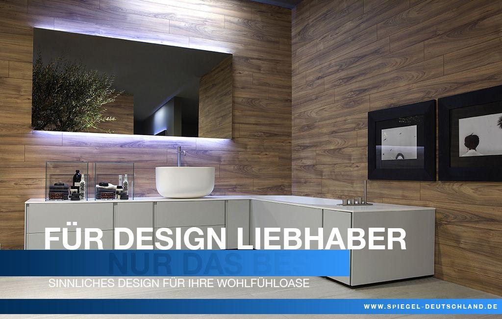 Sinnliches Design für Ihre Wohlfühloase Unser #Wandspiegel - modernes badezimmer designer badspiegel