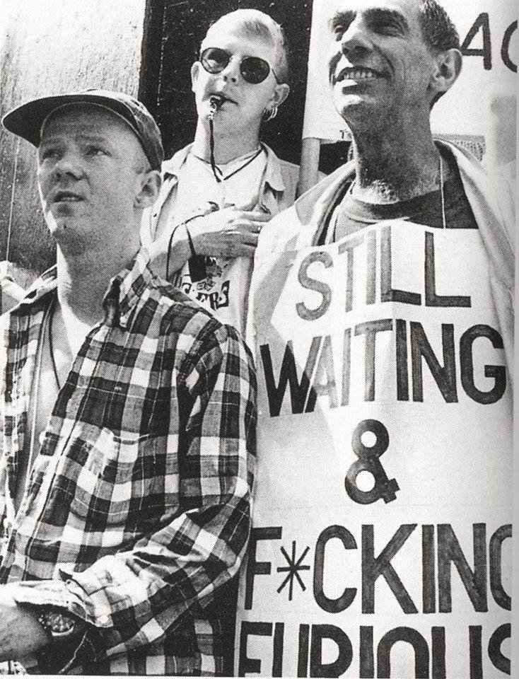 Jimmy Sommerville and Derek Jarman - 1990