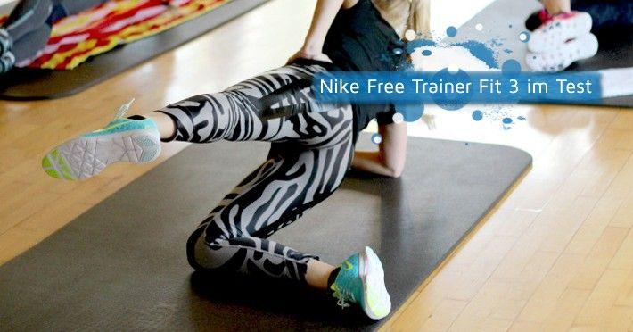 Kristin testet den Nike Free Trainer III beim Fitness Training. #girlsgosports #nike #shoes #girls