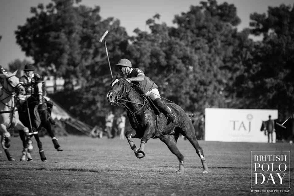 British Polo Day- Cavalry v. Guards