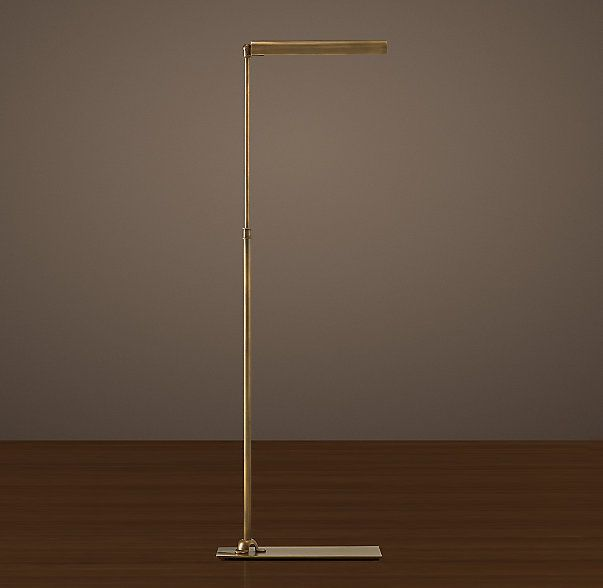 Slimline Task Floor Lamp Restoration Hardware Floor