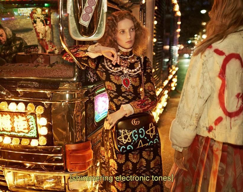gucci invites you on a dreamy tokyo road trip with petra collins behind the wheel | read | i-D