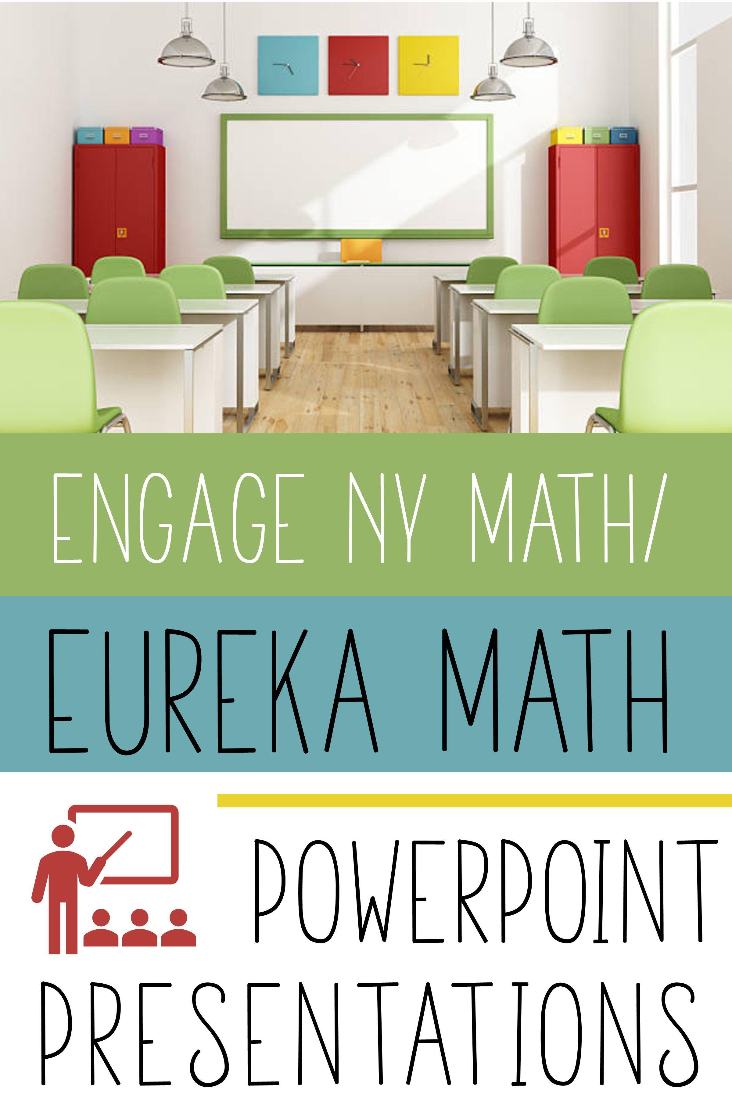 Engage Ny Math A K A Eureka Math Powerpoint