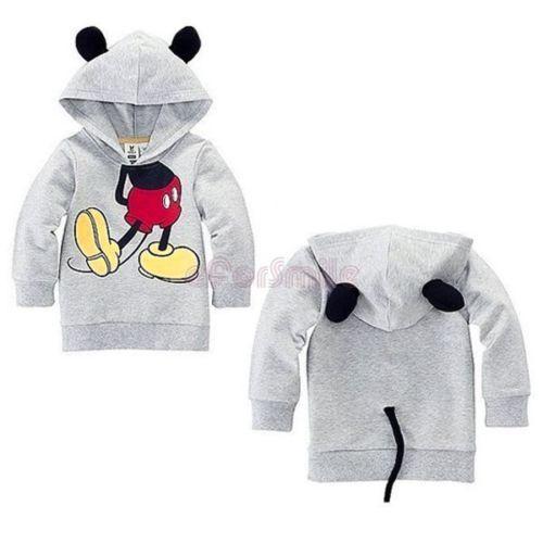 Kids Unisex Disney Inspired Big Hero 6 Baymax Mouse Ears Disney Robot T-Shirt
