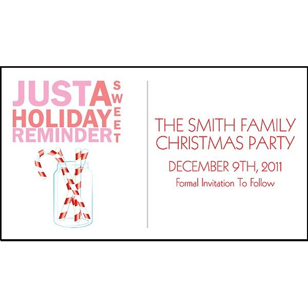 3 x 2 sweet holiday reminder christmas save the date magnets