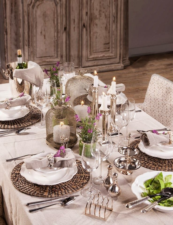 Pretty table setting ~ lunch at the cottage & Pretty table setting ~ lunch at the cottage | Her Pink Cottage ...