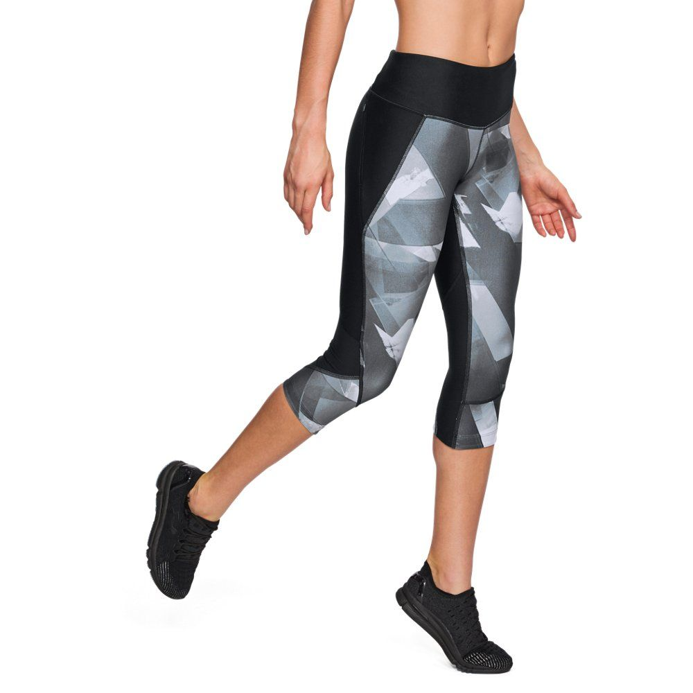 Under Armour Womens Armour Fly Fast Printed Capri