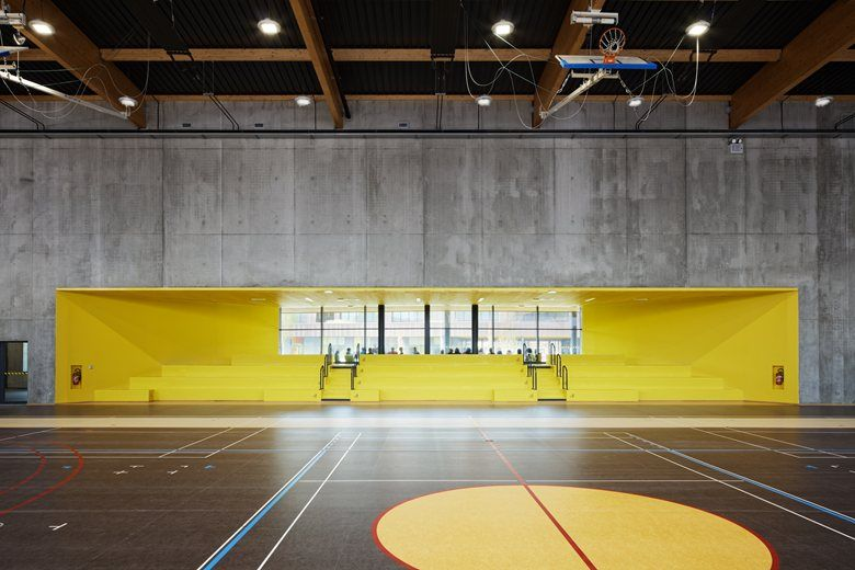 The Moulin Junior High School , Lille, 2015 - Chartier Dalix Architectes