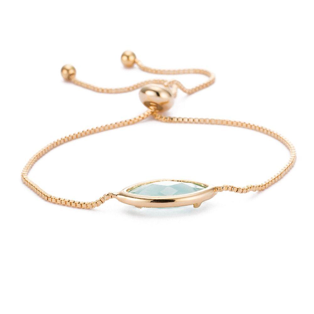 Click to buy ucuc new elegant women bracelets solid color gold color