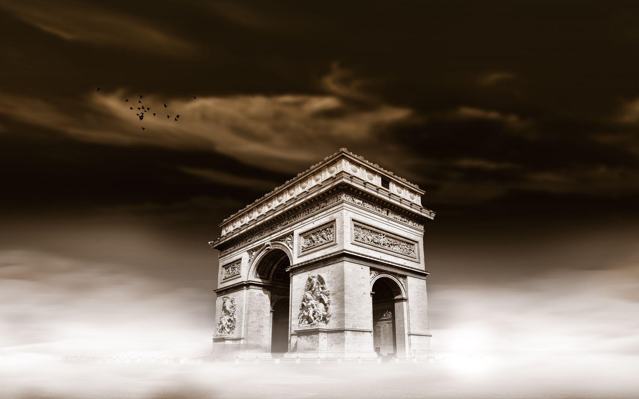 Arc de Triomphe Dream by Mukhtar Al Agha on 500px
