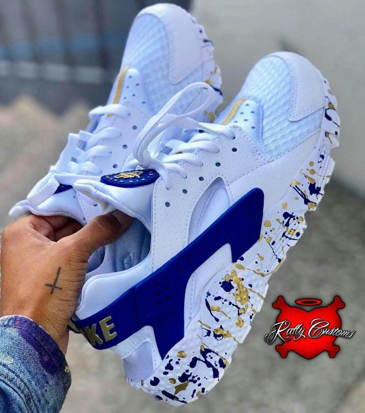 These are cool | Custom nike shoes