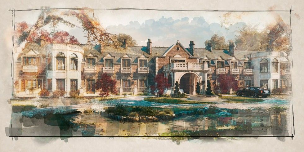 Apply A Beautiful Watercolor Effect To An Architectural Rendering