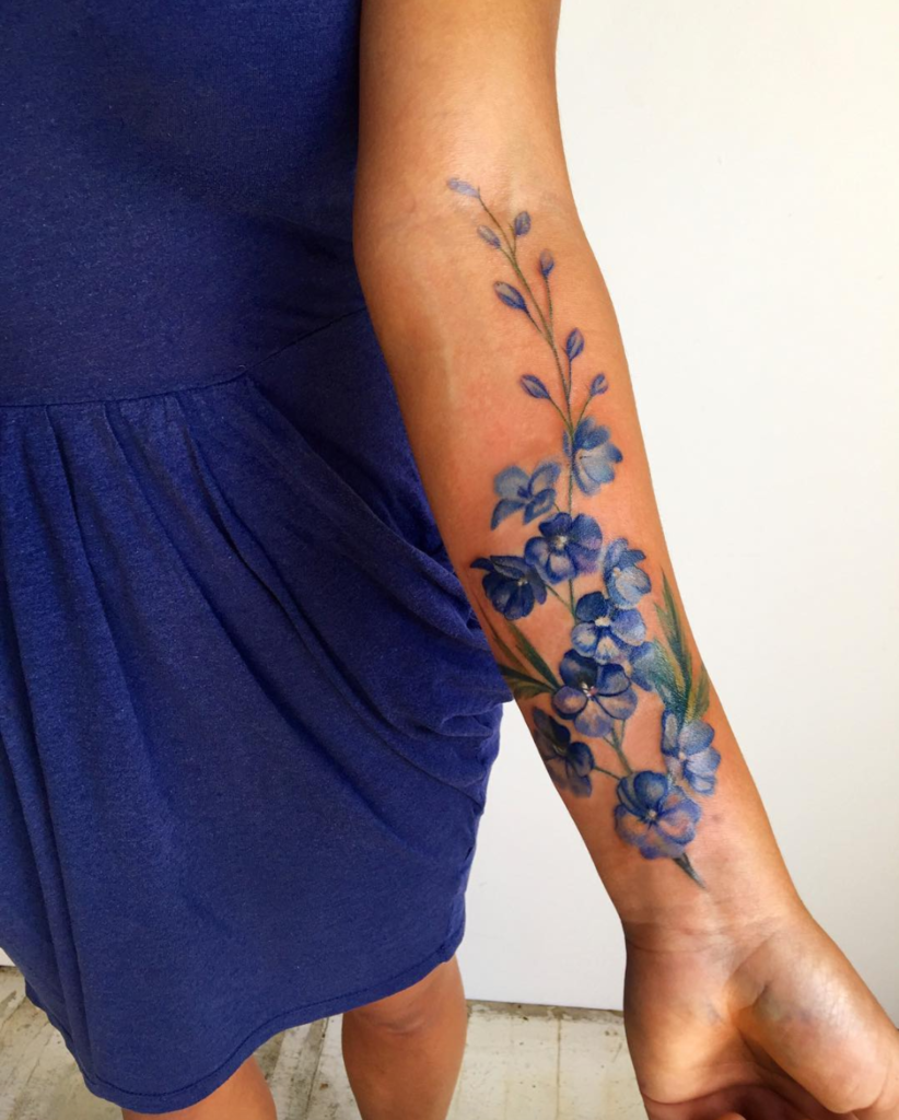 39 Pretty Watercolor Tattoos Thatll Convert Even The Biggest