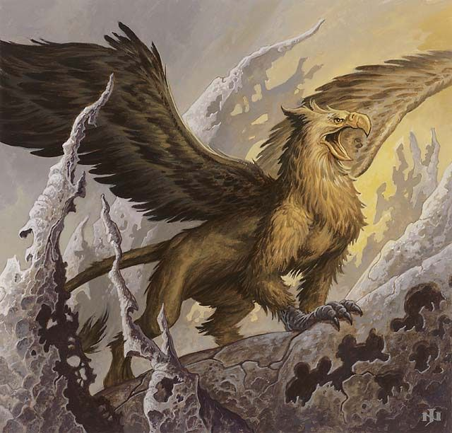 Beasts of greek mythology in 2019 mythical creatures mythological creatures fantasy monster - A picture of a griffin the creature ...
