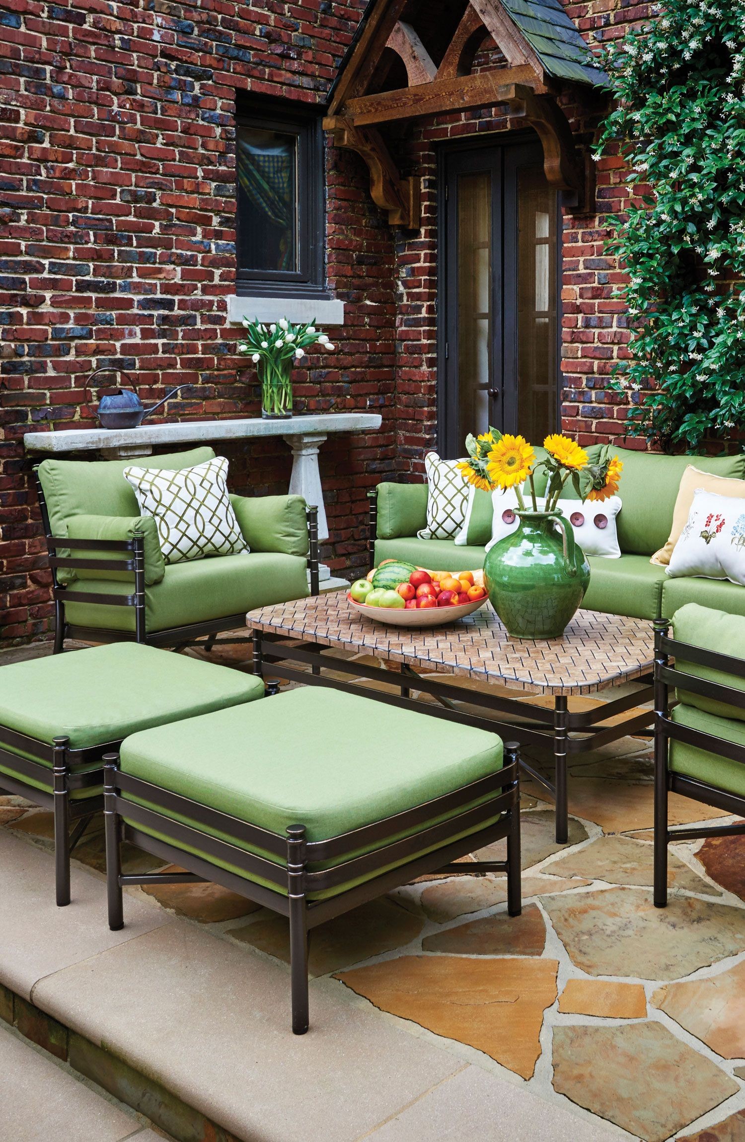 Create your own beautiful outdoor space.   Outdoor space ... on Living Spaces Outdoor Sectional id=64142