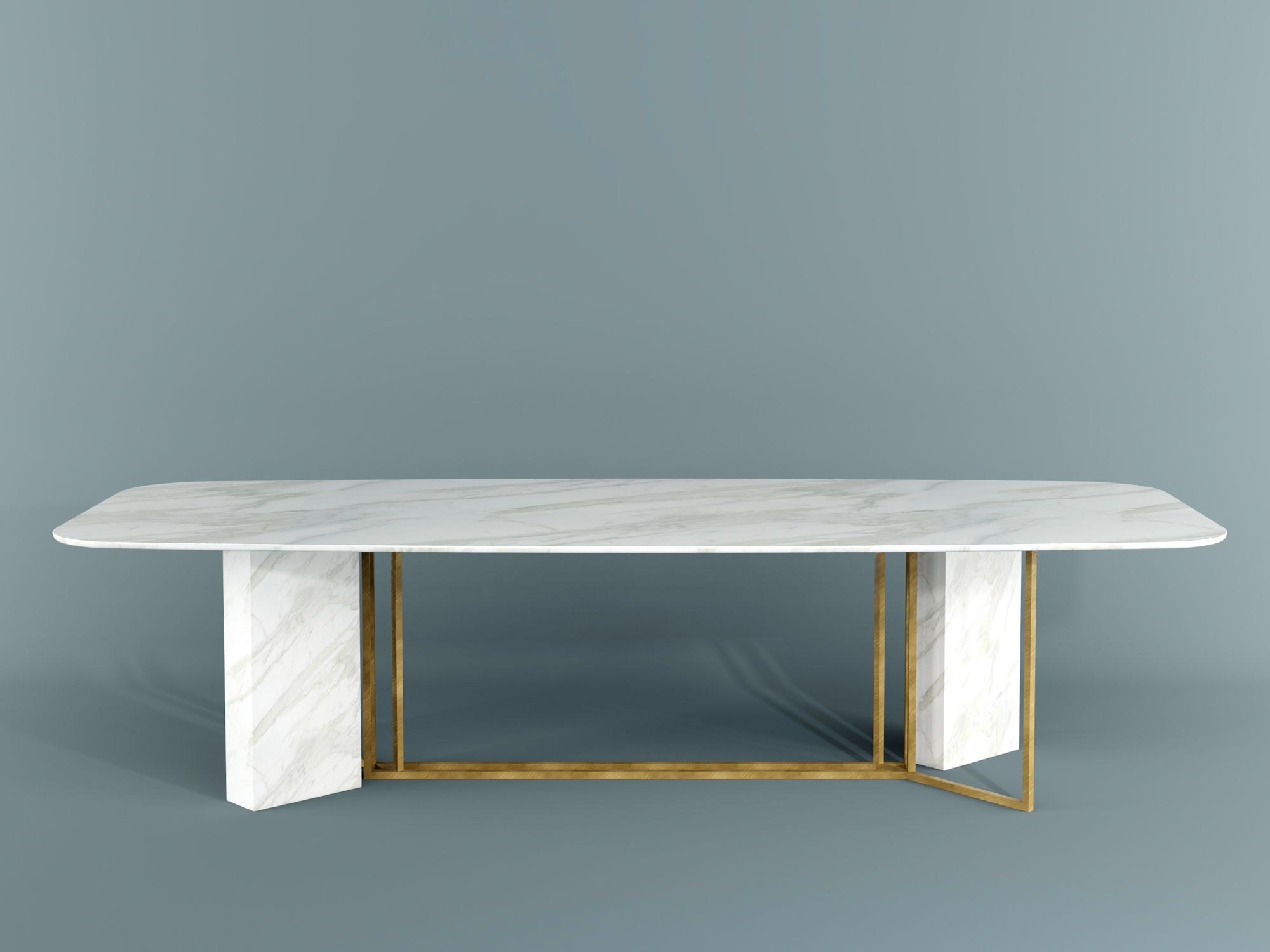 PLINTO Rectangular table by Meridiani design Andrea Parisio | Dinner ...