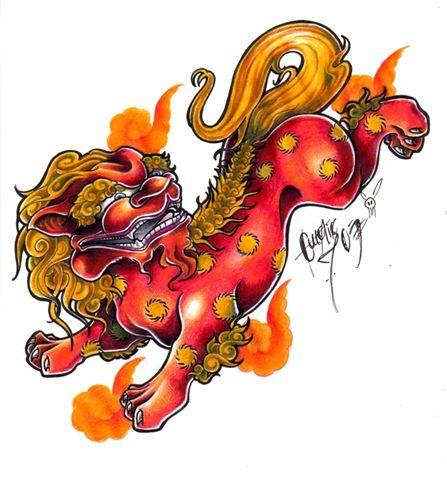 japanese lion (foo dog)