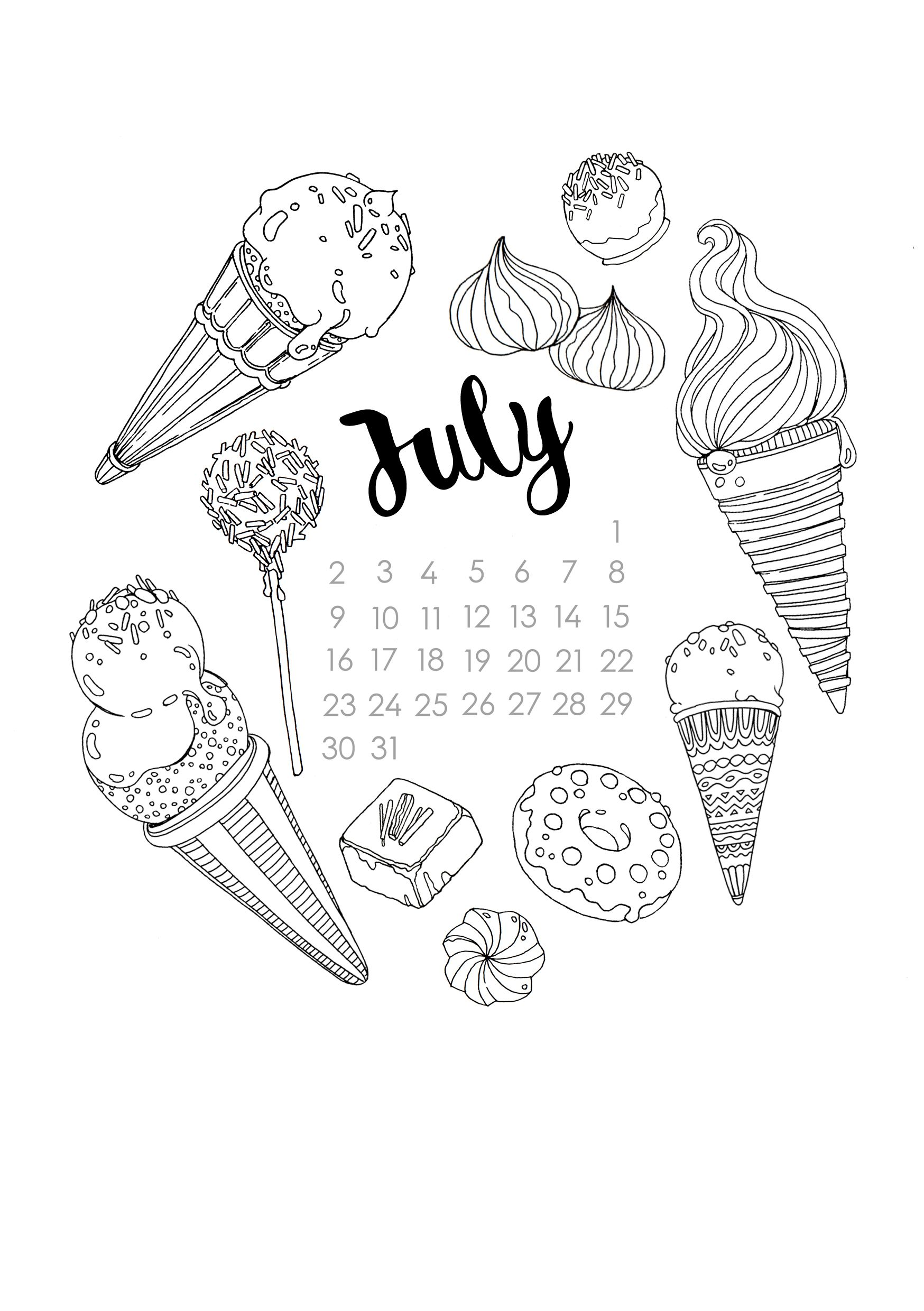 Summery Sweet Coloring Page With Lots Of Ice Cream Cones Candy Chocolates And T Bullet Journal Cover Ideas Bullet Journal Themes Bullet Journal Ideas Pages