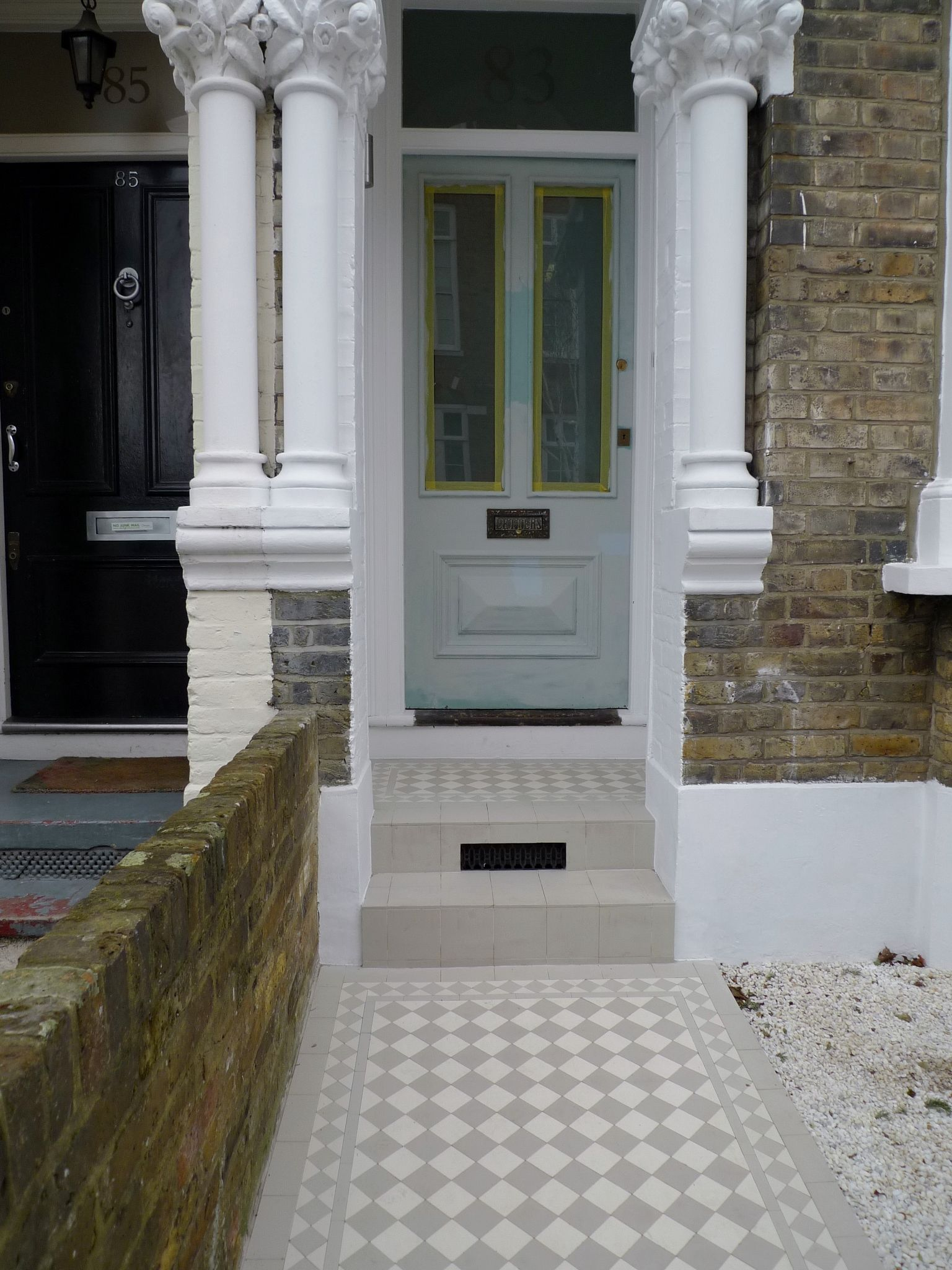 front garden design clapham london - Front Garden Ideas London