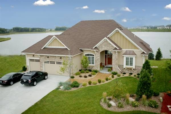 European Home Design For Empty Nesters Cottage House Plans Dream House Plans House Plans