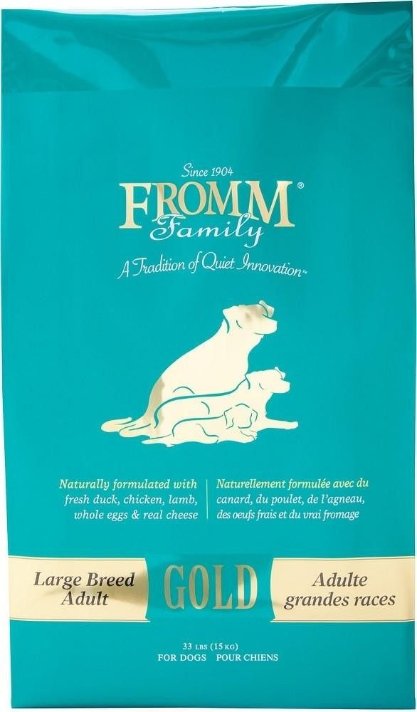 Fromm Gold Holistic Large Breed Adult Dry Dog Food Eggy Pets