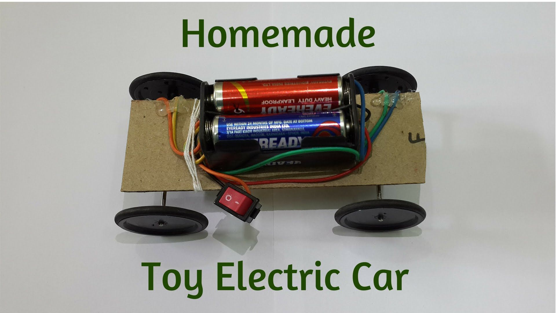 How to Make a Super fast Mini Toy Electric Car using DC